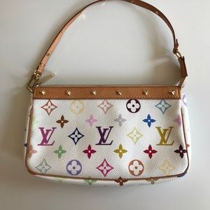 Louis Vuitton multicolor shoulder bag purse